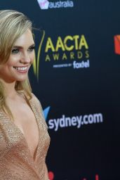 Melina Vidler At 2017 AACTA Awards in Sydney