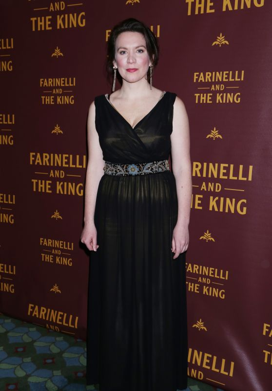Melody Grove At Opening night of Farinelli and the King at the Belasco Theatre, New York
