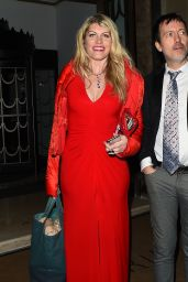 Meredith Ostrom Seen at Brilliant is Beautiful Benefitting Artist for Peace and Justice