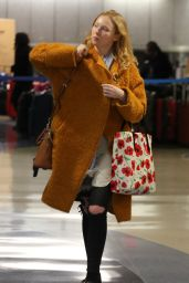 Molly Quinn At LAX Airport in Los Angeles