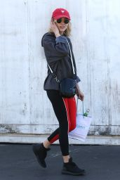 Natalia Dyer Shopping at Bristol Farms in Beverly Hills