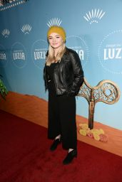 Natalie Alyn Lind At Cirque du Soleil presents the Los Angeles premiere event of