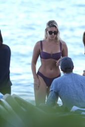 Natasha Oakley Looks great as she enjoys her vacation ,Miami