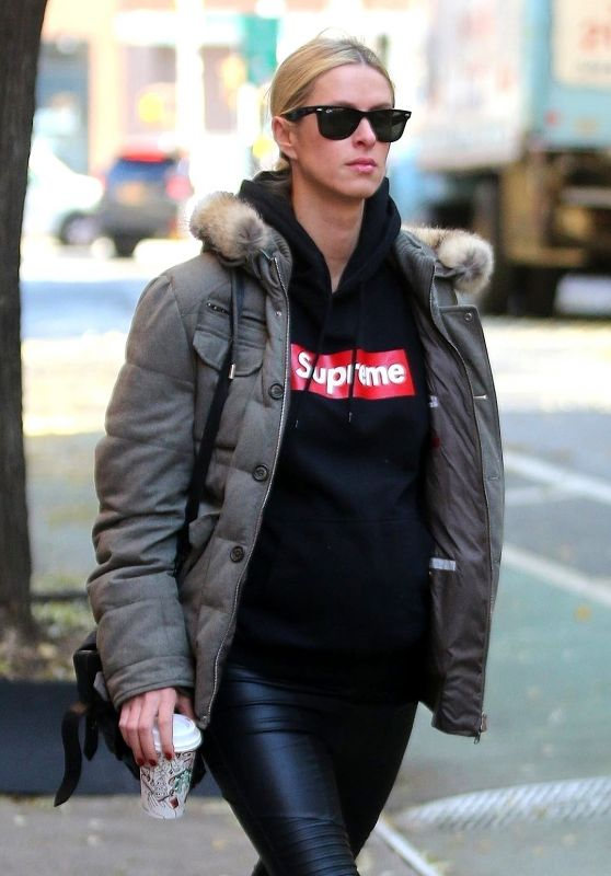 Nicky Hilton Seen out and about in New York City