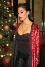 Nicole Scherzinger Leaving The X Factor Afterparty at The Dorchester Hotel In Mayfair