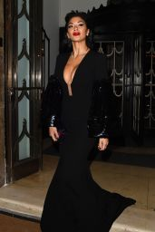Nicole Scherzinger Seen at Brilliant is Beautiful Benefitting Artist for Peace and Justice