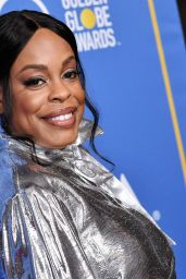 Niecy Nash At Golden Globes 75th Anniversary Special Screening & HFPA Holiday Reception at Paramount Studios in Hollywood