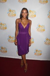Nikki M James At Broadway Opening Night party for Once On This Island at the Copacabana - New York