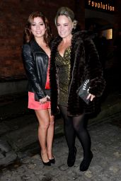 Nikki Sanderson At Hollyoaks Xmas Party in Liverpool