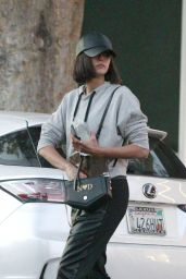 Nina Dobrev Going to Kate Somerville Skin Care in LA