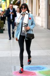 Nina Dobrev Shopping on Rodeo Dr in Beverly Hills