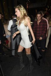 Olivia Attwood Night Out in Manchester