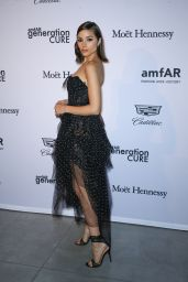Olivia Culpo At 2017 amfAR generationCURE Holiday Party in NYC
