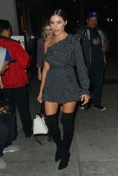 Olivia Culpo Out for dinner at Craig
