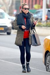 Olivia Wilde Spotted wearing a Red