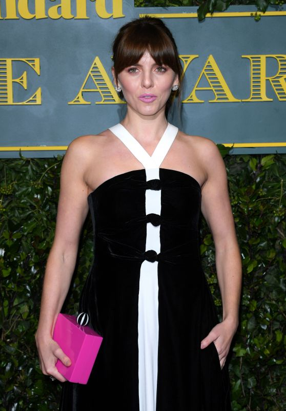 Ophelia Lovibond At London Evening Standard Theatre Awards at the Theatre Royal in London