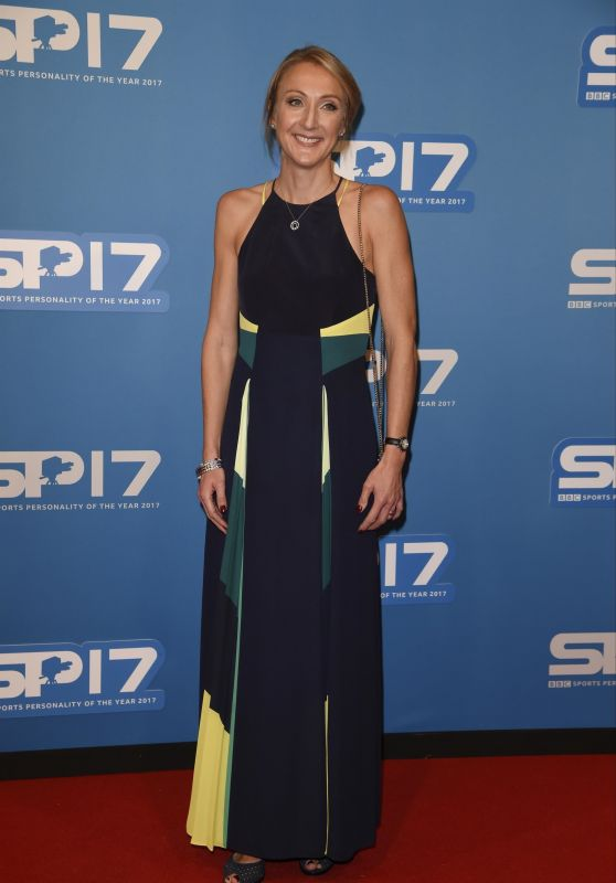 Paula Radcliffe At BBC Sports Personality Awards 2017, Echo Arena, Liverpool, UK