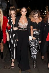 Perrie Edwards Turns the street into the catwalk on a girl