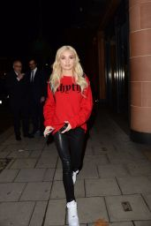 Pia Mia At C London Restraunt in Mayfair