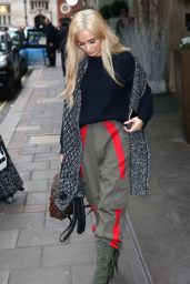 Pia Mia Out in London