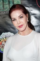 Priscilla Presley At Opening night of Farinelli and the King at the Belasco Theatre, New York