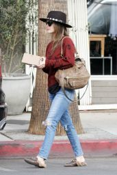 Rachel Bilson Out and about in Los Angeles