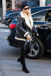 Rita Ora Spotted out and about in NYC