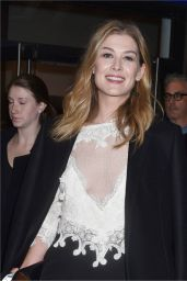 Rosamund Pike At a screening and Q&A for Hostiles in New York City
