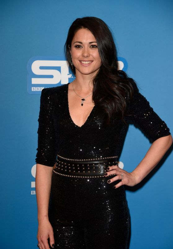 Sam Quek At Sports Personality Of The Year At Echo Arena in Liverpool