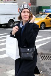 Sarah Paulson Out and about in New York