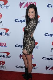Scheana Shay At Z100s Jingle Ball Arrivals New York