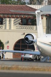 Selena Gomez & Justin Bieber Spotted taking a private jet together out of Van Nuys airport in Los Angeles