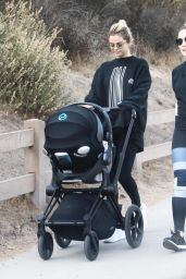 Selena Gomez Out with a friend and her baby hiking in Los Angeles