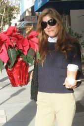 Selma Blair In her riding outfit seen out in Los Angeles