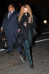 Shakira At the Hunt & Fish Club in NYC