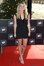 Sian Welby At Tric Awards Christmas Lunch in London