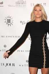 Sofia Richie At Daily Mail Holiday Party, New York