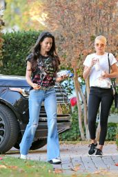 Sofia Richie Takes her mom Diane Alexander over to meet boyfriend Scott Disick at his home in Calabasas
