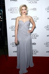 Stefanie Martini At The New York Premiere of Crooked House, at Metrograph
