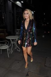 Tallia Storm Night out in London