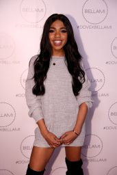 Teala Dunn At Dove x BELLAMI Collection launch party in Culver City