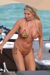 Tiffany Displaying her curves in Miami Beach
