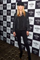 Tilly Keeper Attends Christmas Party for Fight for Life Charity in London
