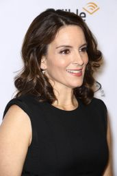 Tina Fey At New York Stage and Film Winter Gala held at Pier 60 at Chelsea Piers