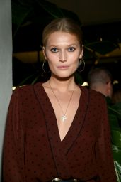 Toni Garrn At CR Fashion Book Celebrates Launch of CR Girls 2018 Calendar with Technogym, New York