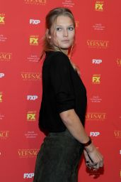 Toni Garrn At The Assassination of Gianni Versace: American Crime Story Premiere in NY