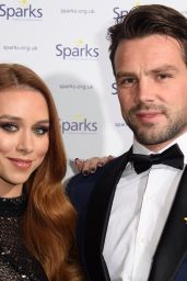 Una Healy At Sparks Winter Ball, London, UK