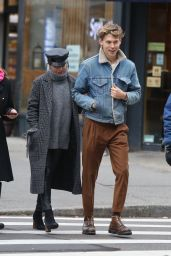Vanessa Hudgens Out and about with Austin Butler in Manhattan
