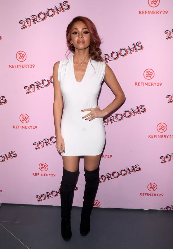 Vanessa Morgan At Refinery29 29Rooms Los Angeles: Turn It Into Art Opening Party at ROW DTLA in Los Angeles