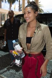 Vanessa White Returning to the Versace Hotel in Surfers Paradise after being evicted from the jungle camp, Surfers Paradise